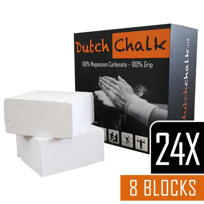 """Dutch Chalk Magnesium Blokken – """"24-Pack"""" (24 dozen = 192 Blokken)"""